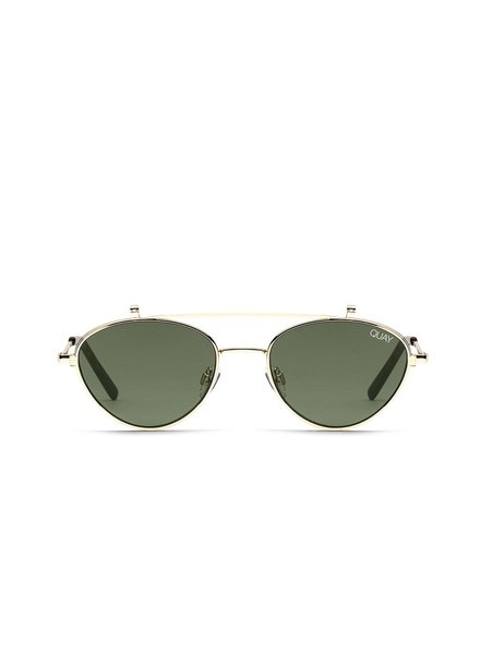 Elle Sunnies Gold/Green