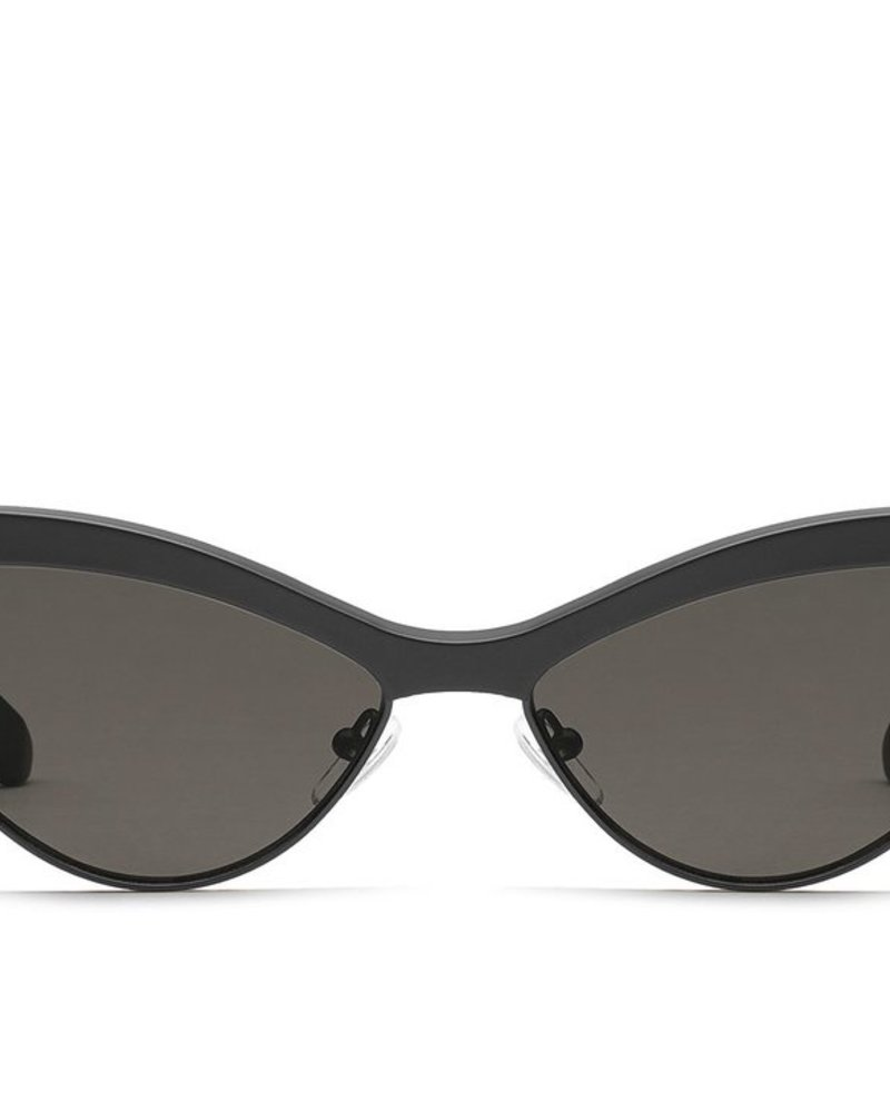 All Night Sunnies Black/Smoke
