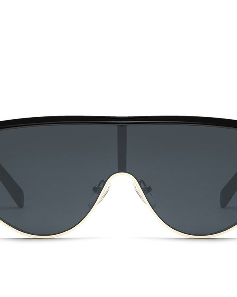 Goldie Sunnies Black/Smoke