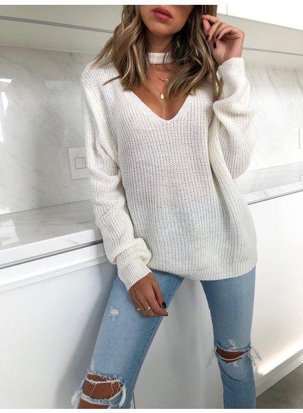 Nouveau Noir Key To My Heart Sweater