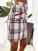 Nouveau Noir Alana Plaid Mini Skirt