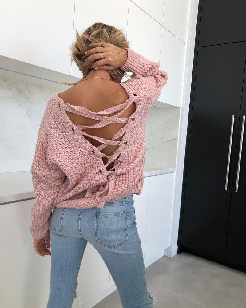 Nouveau Noir Sloane Criss Cross Sweater