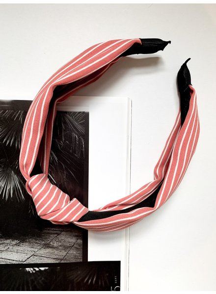 Nouveau Noir The Lisbon Striped Headband
