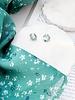 Nouveau Noir Hydrangea Earrings