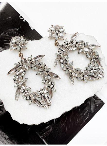 Nouveau Noir Loretta Earrings