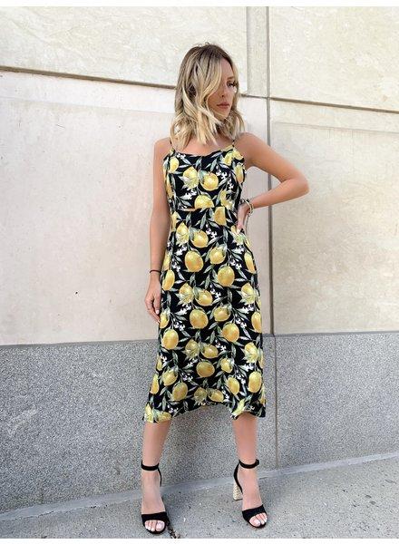 RUNAWAY THE LABEL Limoncello Slip Dress