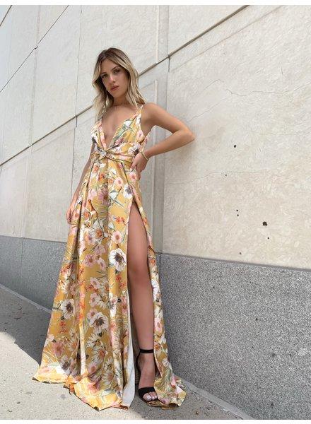 Nouveau Noir Esperanza Floral Gown