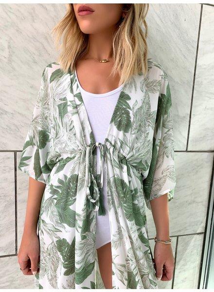 Nouveau Noir Cyprus Duster Kimono