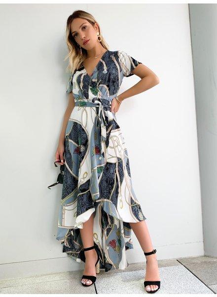 Nouveau Noir Roma Wrap Dress