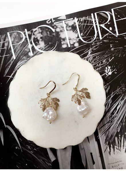 Nouveau Noir Paola Earrings