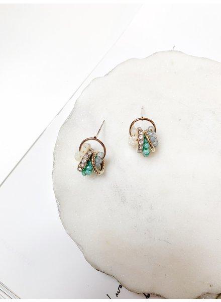 Nouveau Noir Solana Earrings