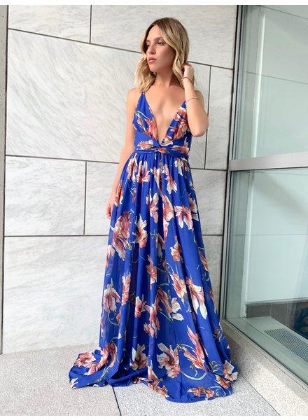Nouveau Noir Isidora Floral Gown