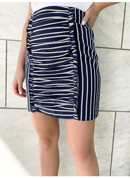 Fifth Label Poppy Stripe Skirt