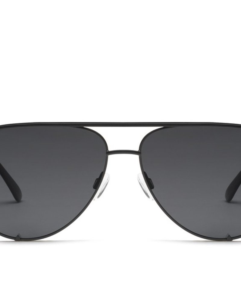 High Key Mini Sunnies Black/Smoke