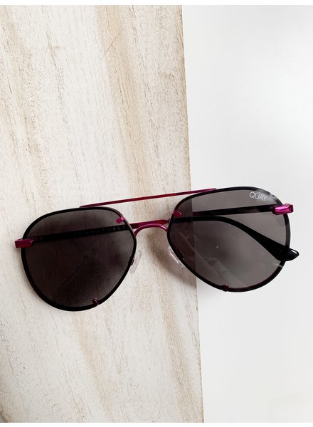 Rebelle Sunnies Pink/Smoke