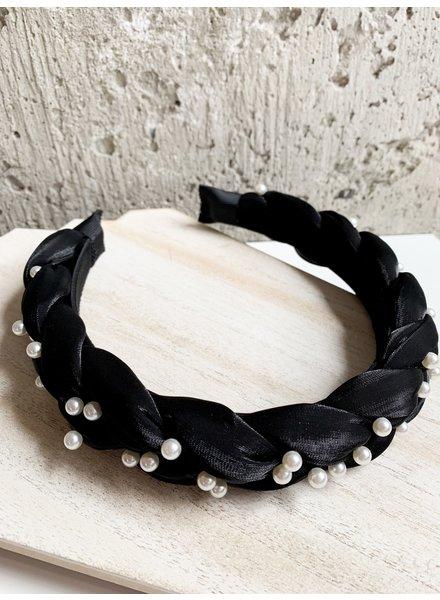 Nouveau Noir Georgina Pearl Headband