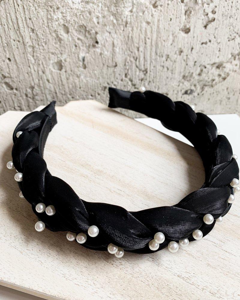Nouveau Noir Georgina Headband