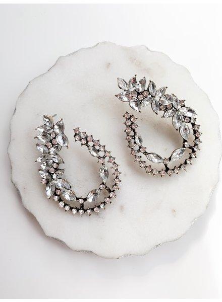 Nouveau Noir Alina Earrings
