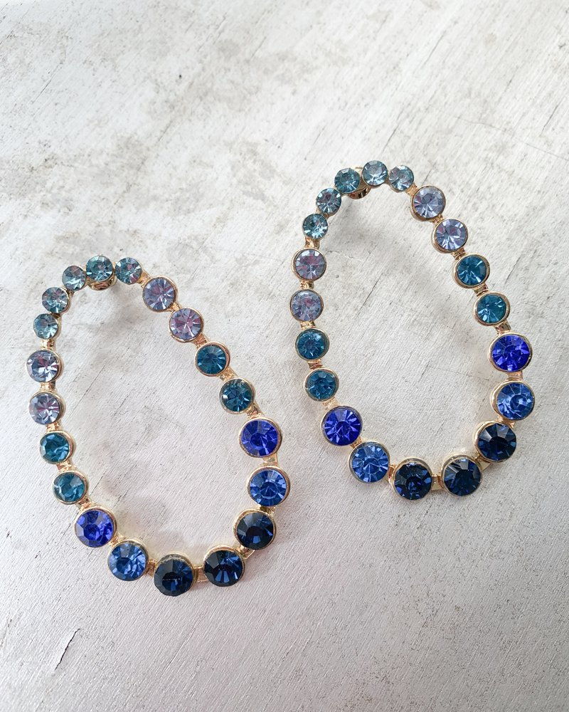 Nouveau Noir Lana Earrings