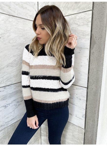 Nouveau Noir Ladila Pullover Knit