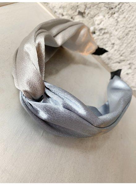 Nouveau Noir Phoebe Headband Silver/Baby Blue