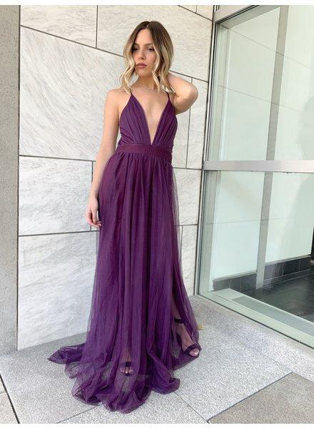 Nouveau Noir Catalina Gown