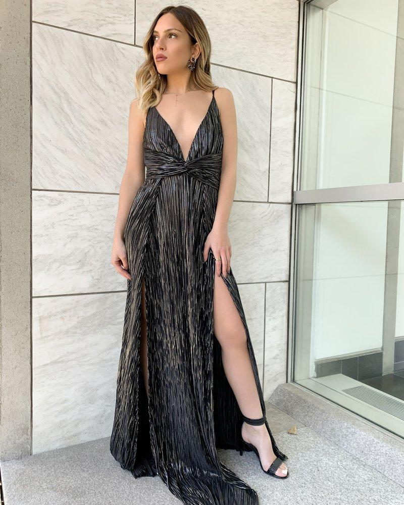 Nouveau Noir Amalia Gown
