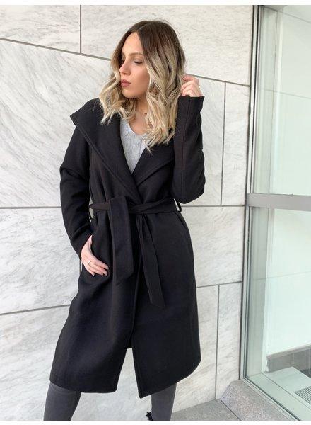 Nouveau Noir Riley Wool Coat