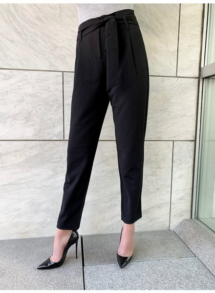 Nouveau Noir Carolina Belt Pants