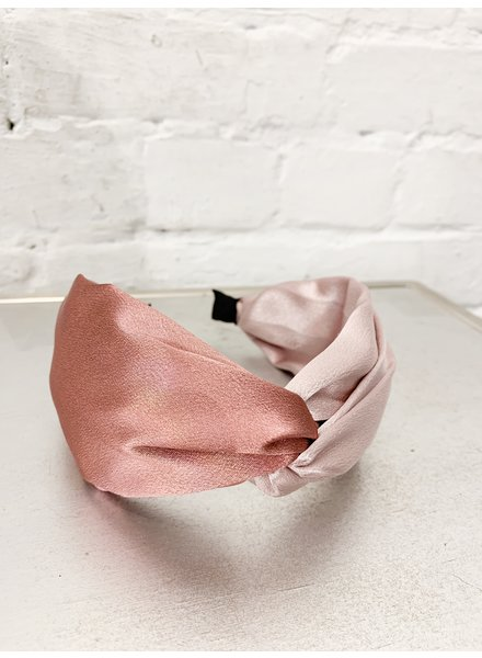 Nouveau Noir Phoebe Headband Light Pink/Pink