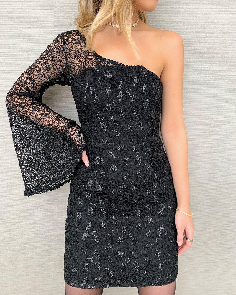 RUNAWAY THE LABEL Midnight Mini Dress