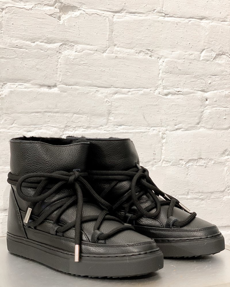Inuikki Sneaker Full Leather Black