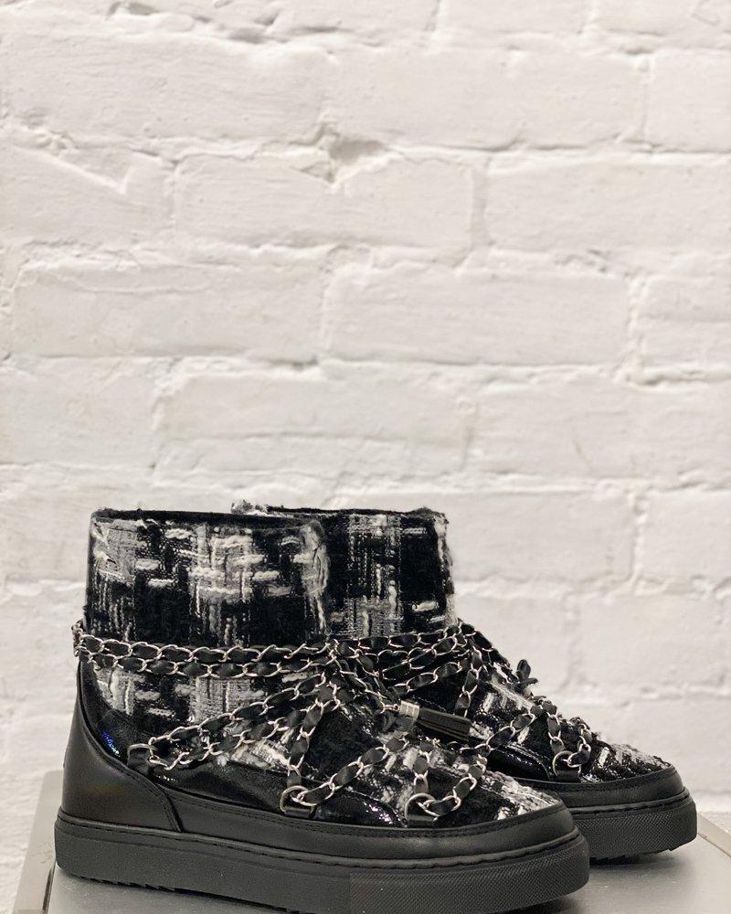 Inuikki Sneaker English Tartan Black