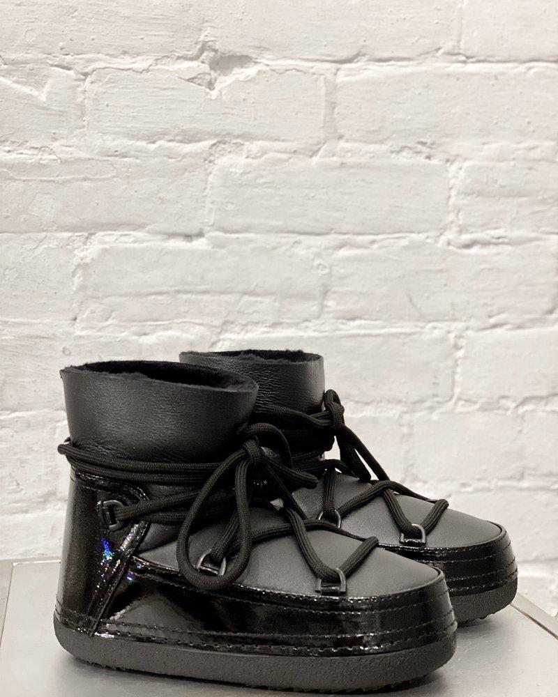 Inuikki Women Boot Gloss Black
