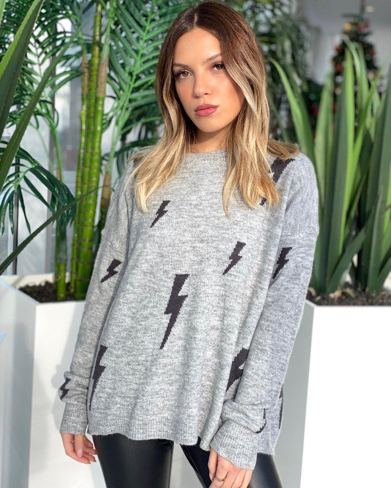 Nouveau Noir Bolt Sweater