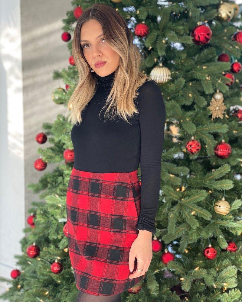 Nouveau Noir Britney Mini Skirt