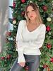 Nouveau Noir Emma Fluffy Sweater