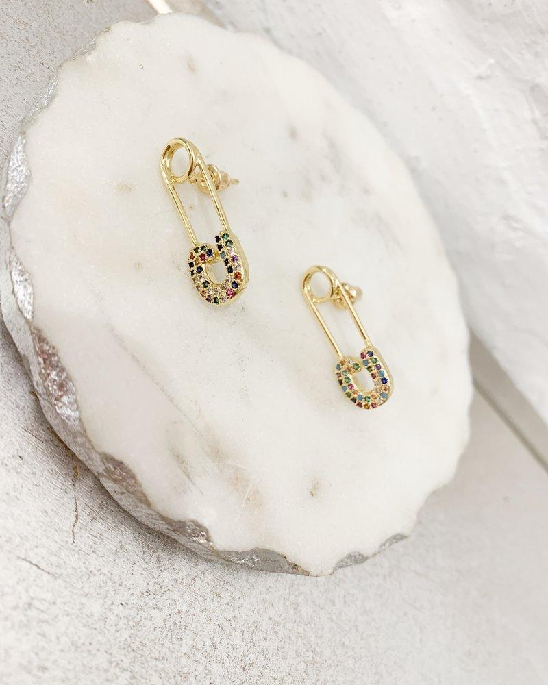 Nouveau Noir Kinley Earrings