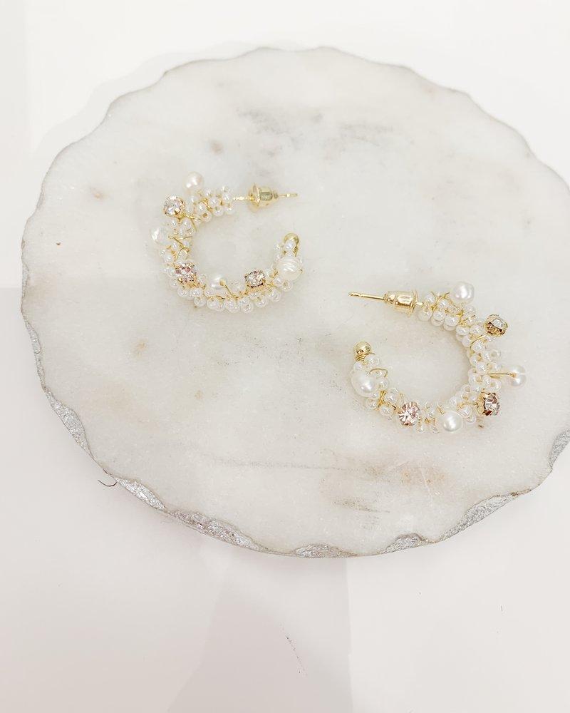 Nouveau Noir Thea Earrings