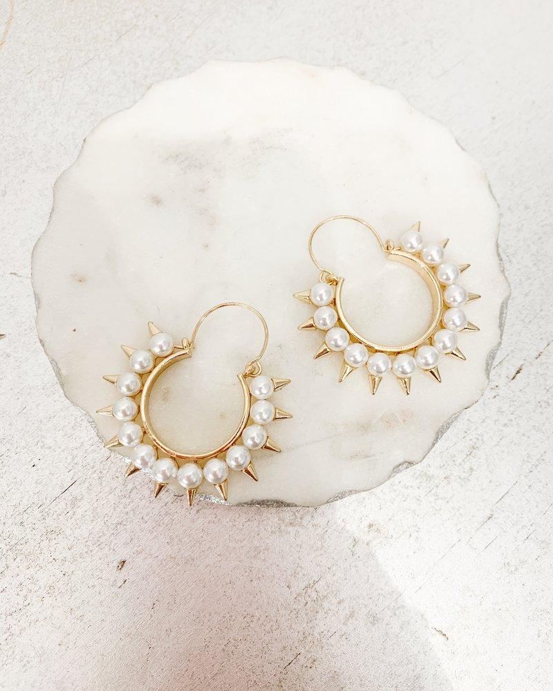 Nouveau Noir Samara Earrings