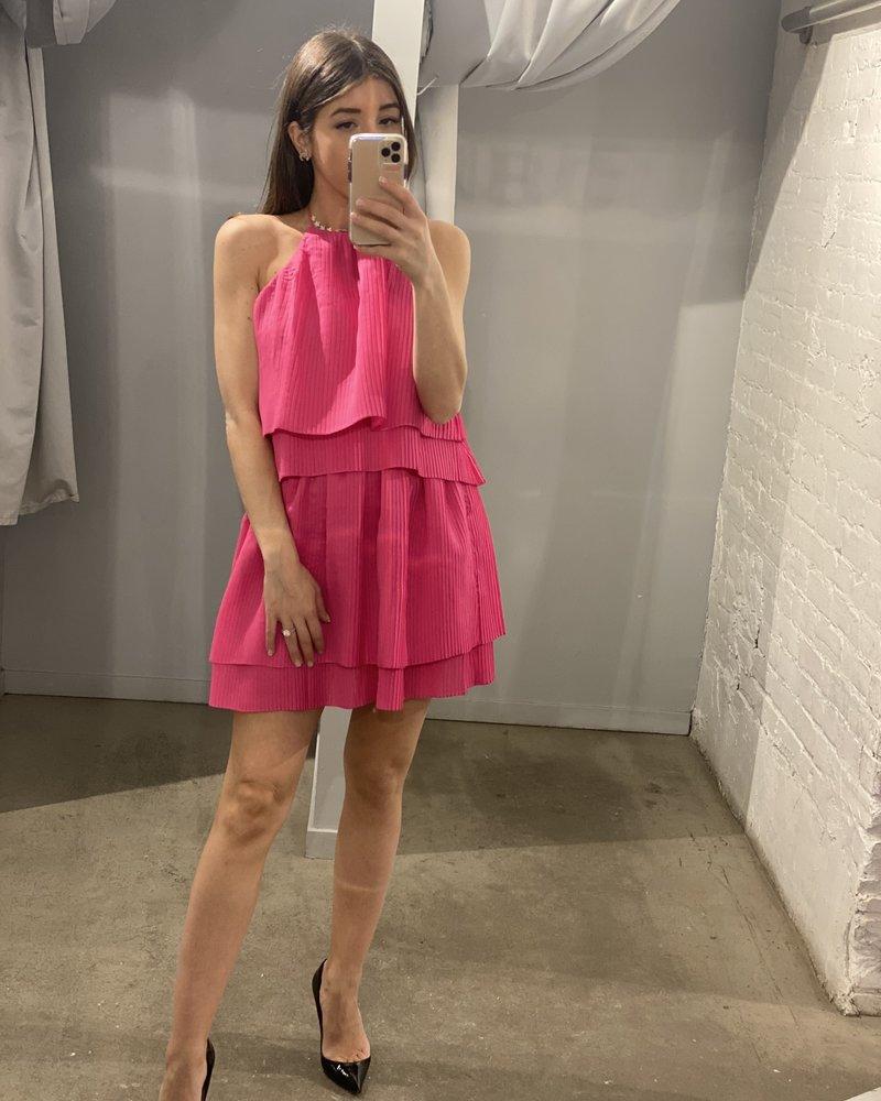 4AUCMD Outlier Midi Dress Magenta