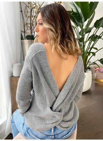 Nouveau Noir Knot Your Baby Sweater