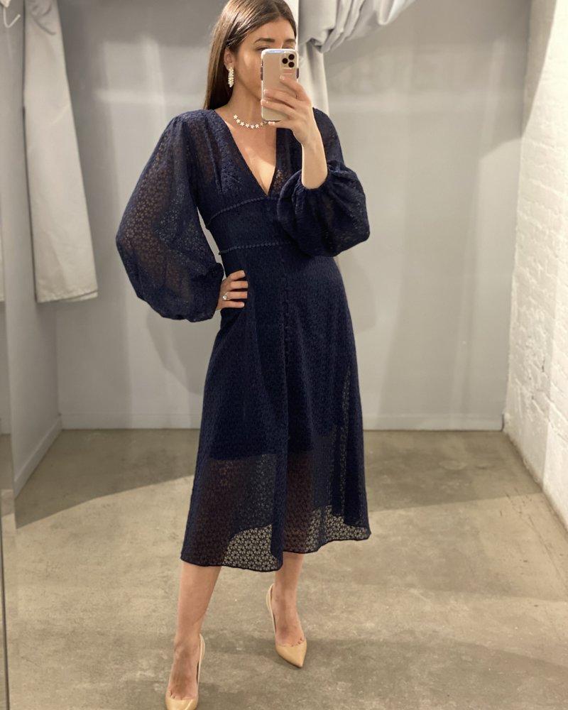4AUKMD Trouble LS Dress