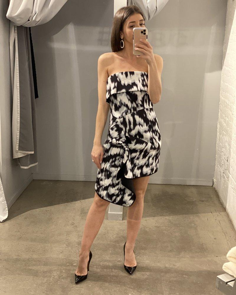 4AUCMINI New Stage Mini Dress