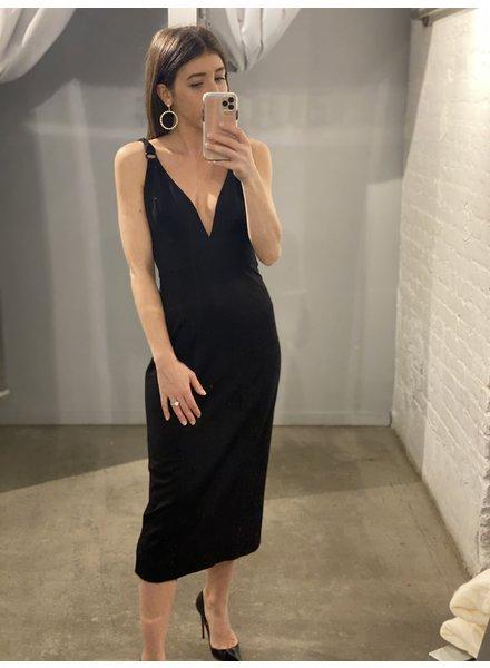 4AUFKMD Effy Dress Black