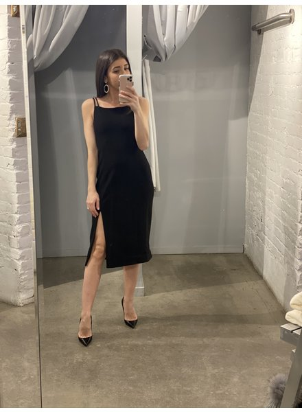 4AUFKMD Natalia Dress Black