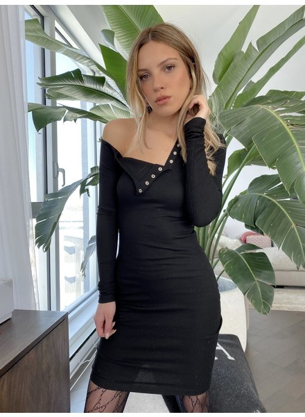 Nouveau Noir Blake Henley Dress