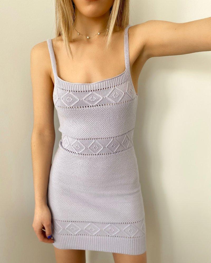Seven Wonders The Label Rose Knit Dress