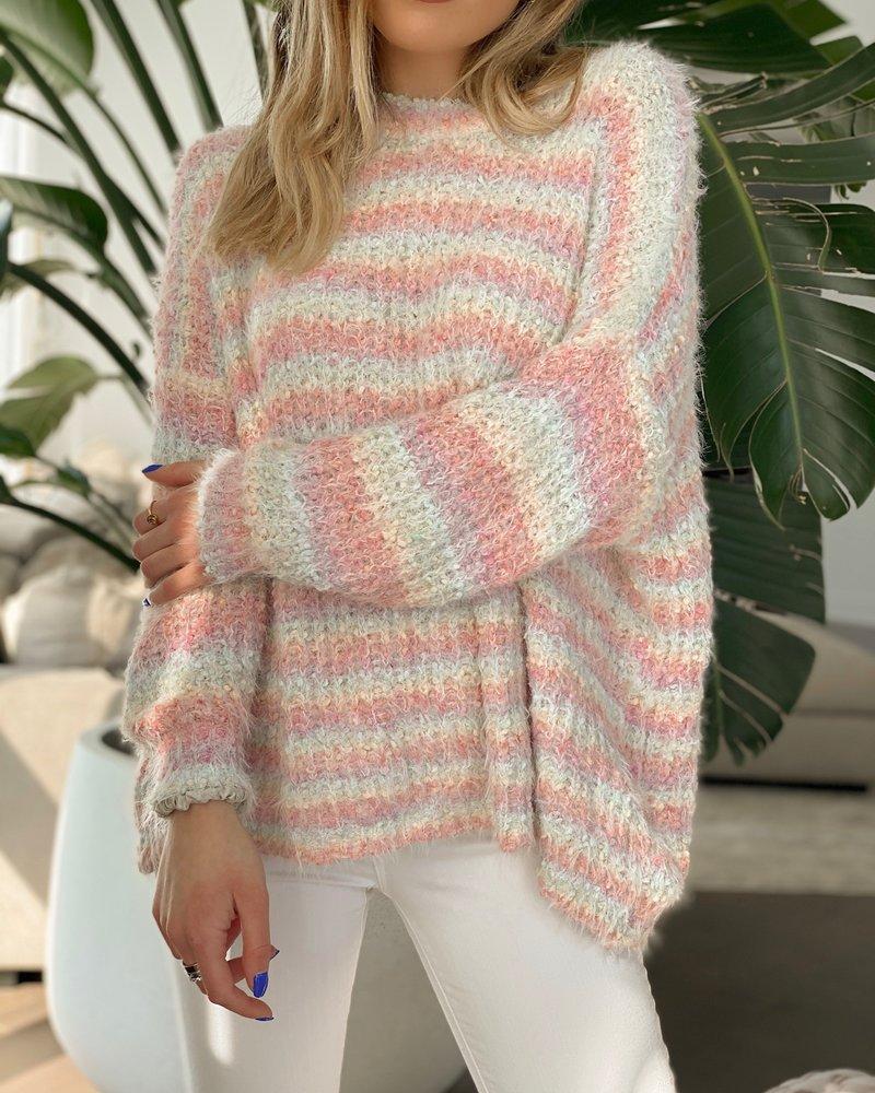 Nouveau Noir Rainbow Rays Sweater