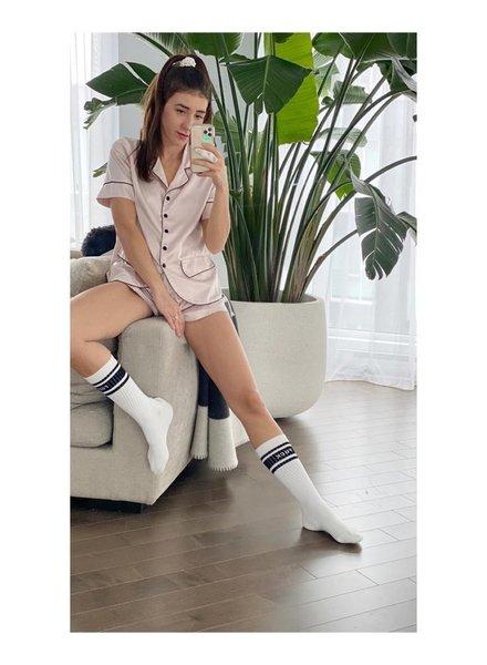Nouveau Noir The Luxe Pajama Set [2pcs]